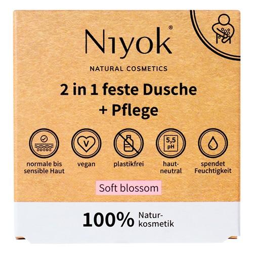 Niyok feste Dusche & Pflege, 80g