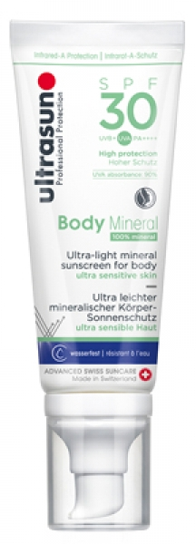 Ultrasun Body Mineral SPF30, 100ml
