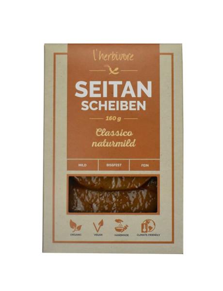 L´herbivore Seitan-Scheiben Classico naturmild