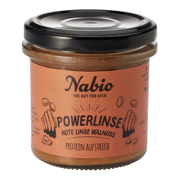 Nabio Nabio Protein-Aufstrich Powerlinse Rote Linse Walnuss
