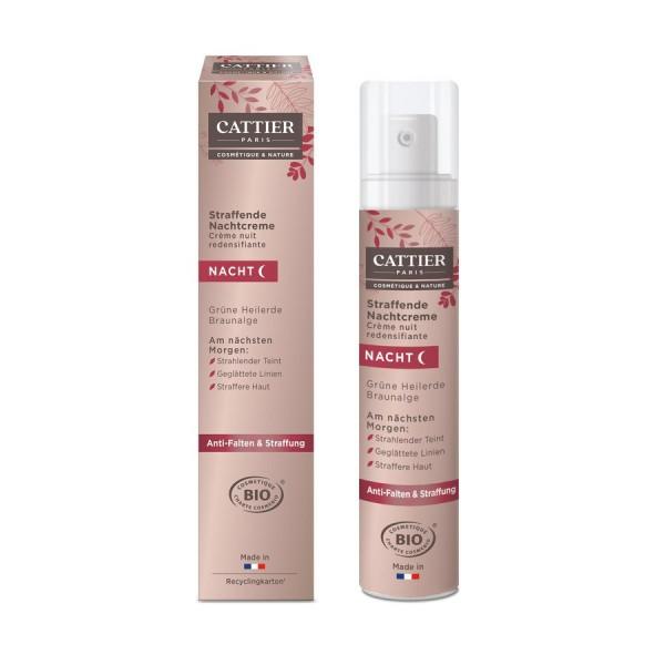 Cattier NEU Cattier Straffende Nachtcreme für reife Haut mit Heilerde 50ml