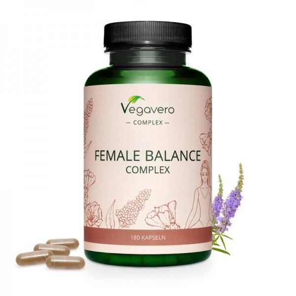 Vegavero Female Balance Complex, 180 Kapseln