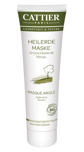 Cattier Cattier Grüne Heilerde Maske für Mischhaut bis fettige Haut