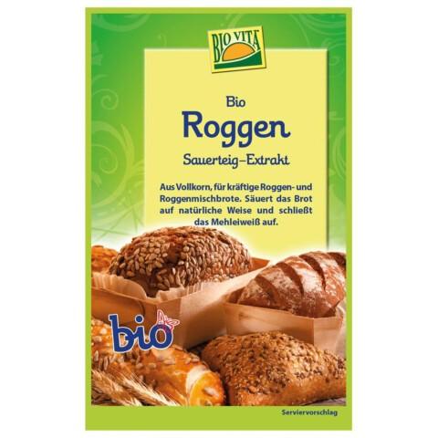 Biovita Roggen Sauerteig Extrakt, 15g