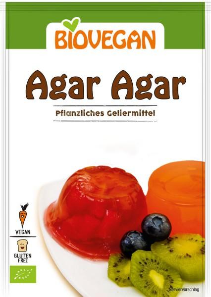 Biovegan Agar Agar, pflanzliches Geliermittel, BIO