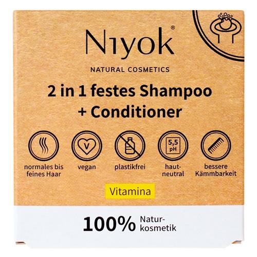 Niyok festes Shampoo & Conditioner, 80g