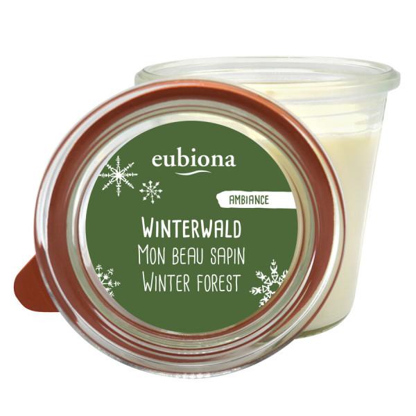 """Eubiona Duftkerze im Glas """"Winterwald"""""""