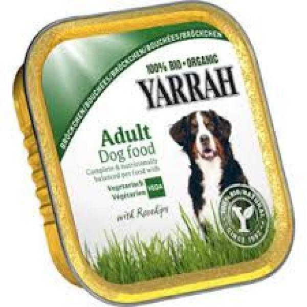 Yarrah Hundefutter (vegan) mit Gemüse & Hagebutten, 150g