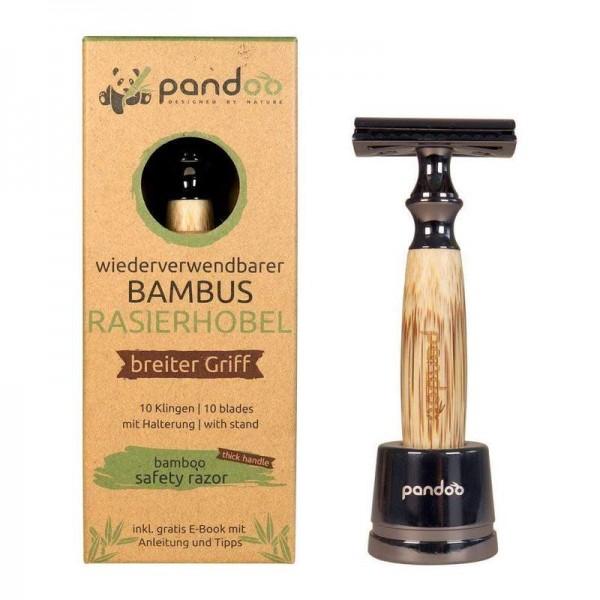 Pandoo Rasierhobel aus Bambus