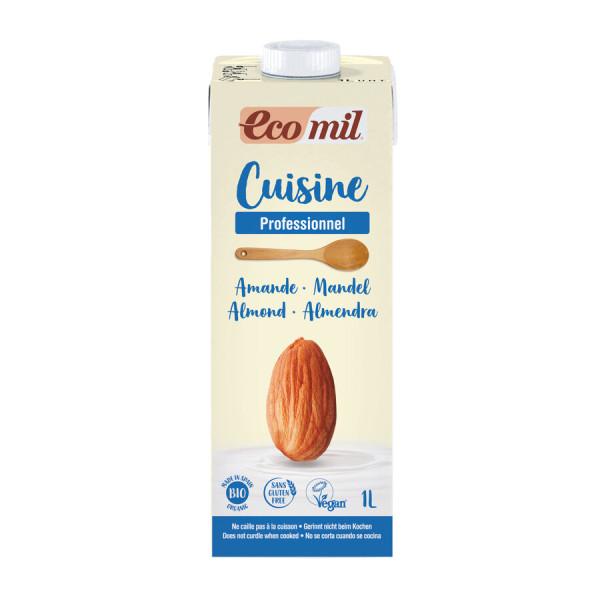 EcoMil Ecomil Mandel-Cuisine Profi Kulinarische Zubereitung auf der Basis von Mandeln