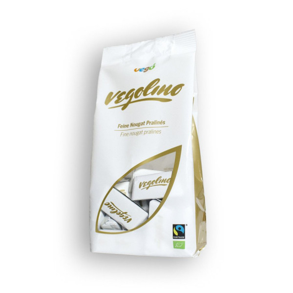Vego Vegolino 180 g Feine Nougat Pralines Bio/FT vegan