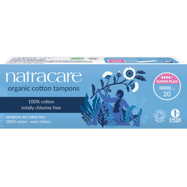 Natracare Tampons Super Plus