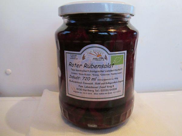 Lebenbauer Roter Rübensalat (Steiermark), 720 ml