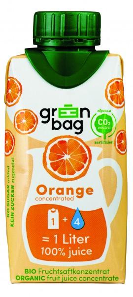 Greenbag Orangensaft Konzentrat, 200ml