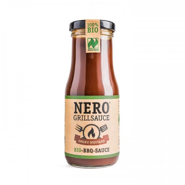 Nero Grillsauce SMOKY MUSTARD, 250ml