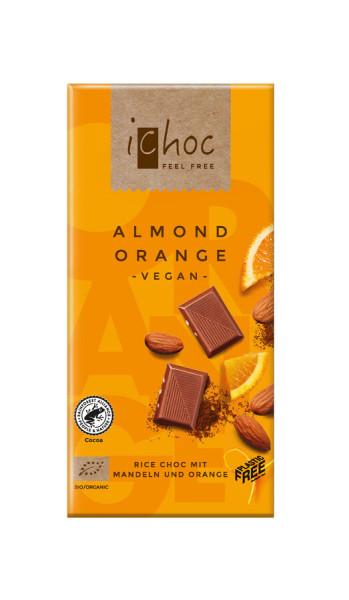 iChoc Almond Orange - Rice Choc