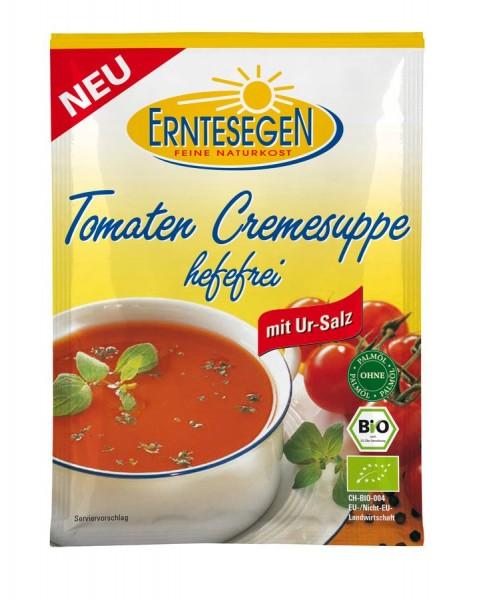 Erntesegen Tomaten Cremesuppe hefefrei