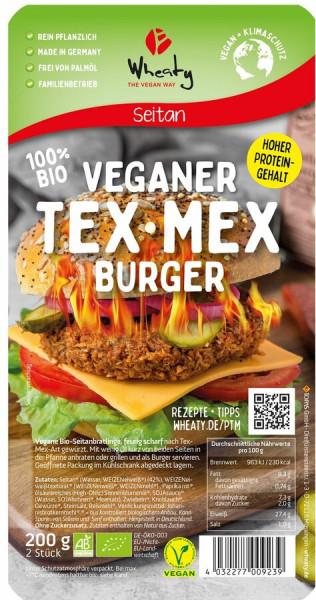 Wheaty Wheaty Veganer-Tex Mex Burger