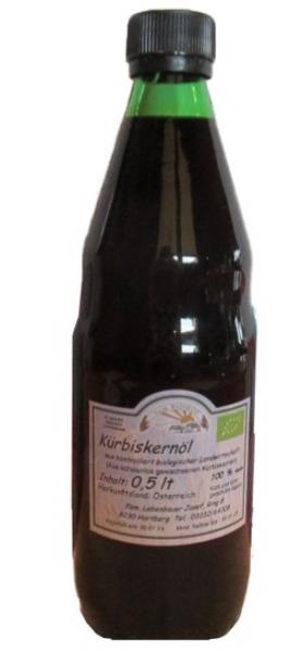 Lebenbauer Kürbiskernöl aus der Steiermark, 250ml