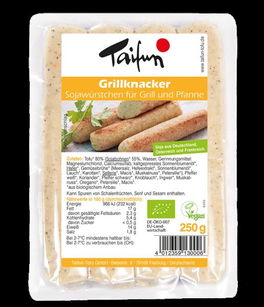 Taifun Tofu Grillknacker, 250g
