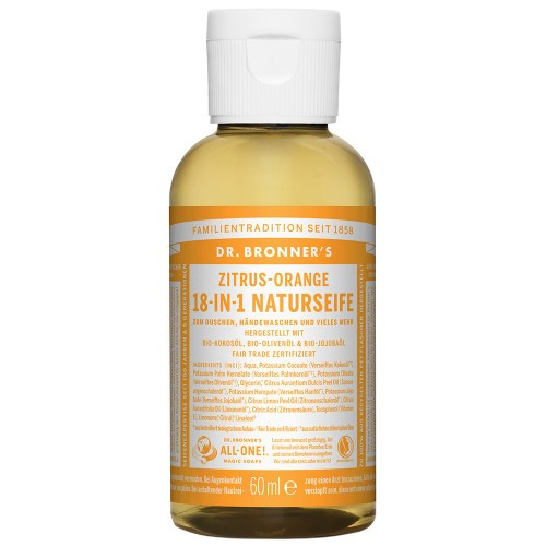 Dr.Bronners Naturseife 18-in-1, 60ml