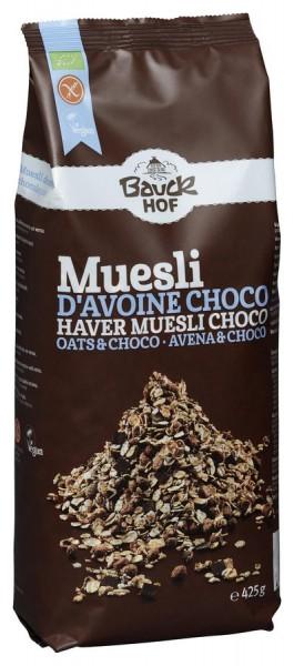 Bauckhof Hafer Müsli Schoko Intern. glutenfrei Bio