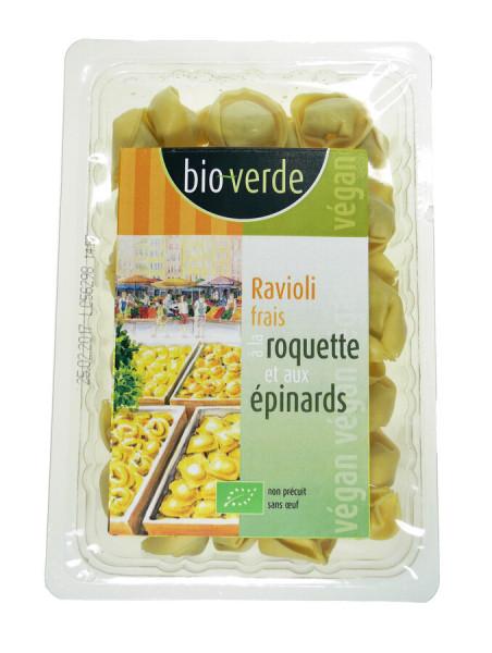 """bio-verde französisch Ravioli mit Rucola-Spinat-Füllung 250g""""Frankreich"""" vegan"""
