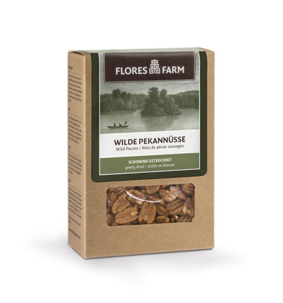 Flores Farm Premium Bio ´Wilde´ Pekannüsse