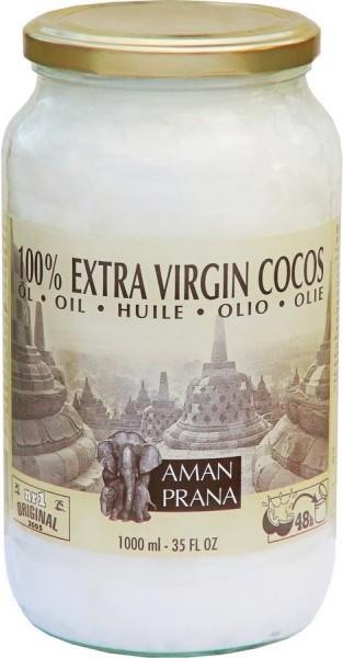 Amanprana Kokosnussöl Cocos 100% nativ (kaltgepresst)