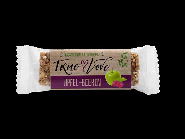 TRUE LOVE Müsliriegel APFEL-BEEREN, 30g