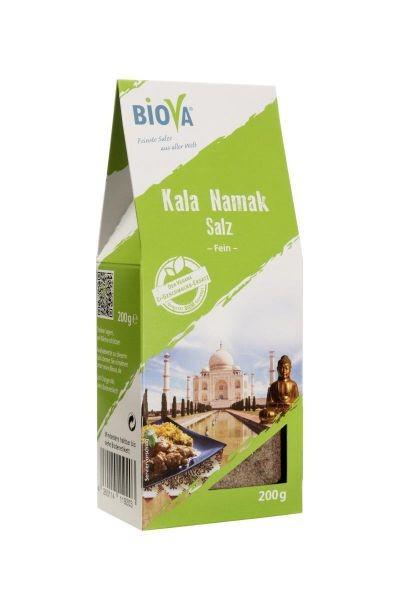 Kala Namak Schwarzes Salz, Feinstreu, 200 g