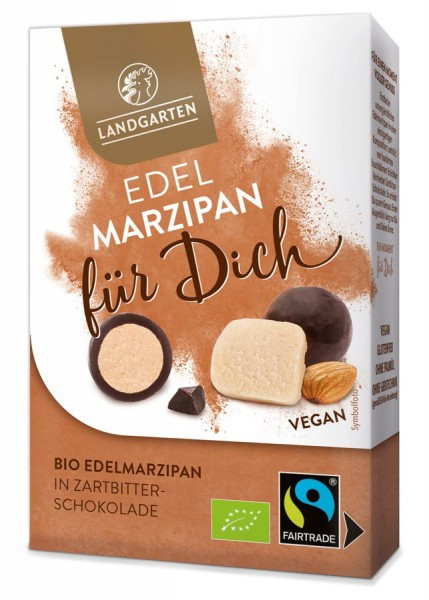 Landgarten Bio FT Marzipan in Zartbitterschokolade 90g