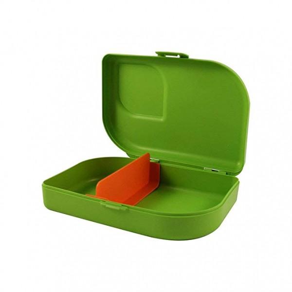 Nana Brotbox Jausenbox mit KlipVerschluss, Farbe: lime