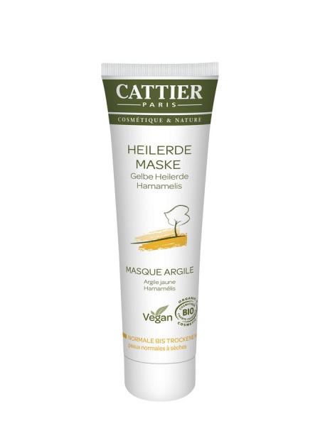 Cattier Cattier Gelbe Heilerde Maske für normale bis trockene Haut