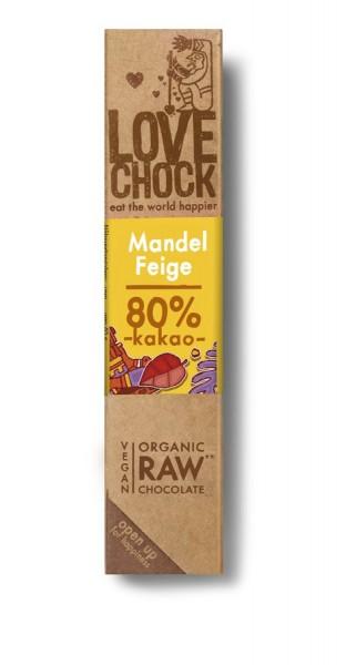 Lovechock Lovechock Riegel 40 g Mandel/Feige