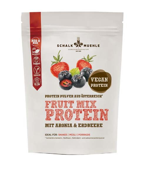 Schalk Mühle Proteinpulver Fruit Mix, 210g