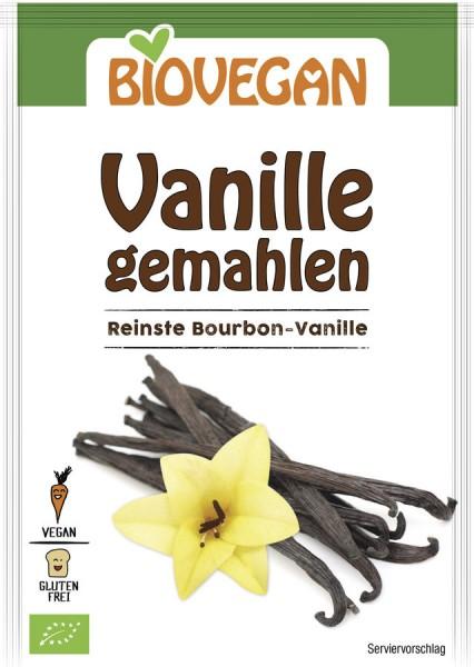 Biovegan Vanille gemahlen, BIO