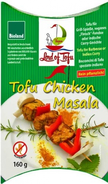 Lord of Tofu, Chunks Masala, 160 g