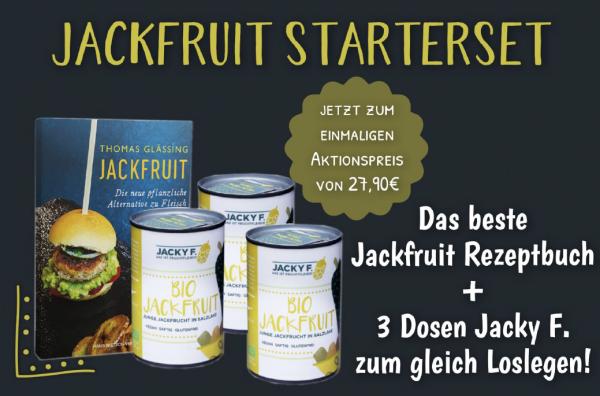 Jackfruit Starterpaket AKTION Buch + 3 Dosen