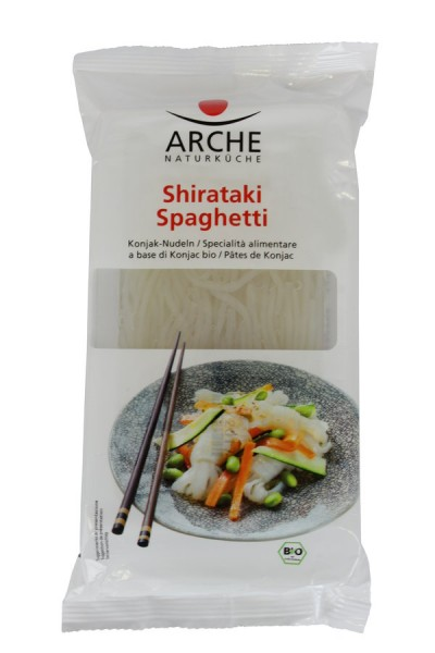 Arche Naturküche Shirataki Spaghetti, Konjak Nudeln