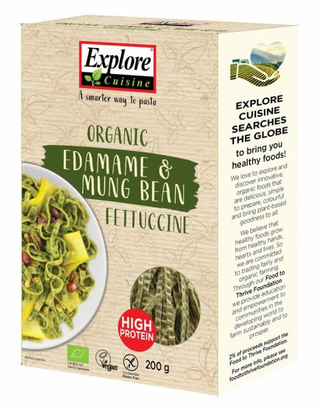 Explore Cuisine Fettuccine aus Edamame- und Mungbohnen