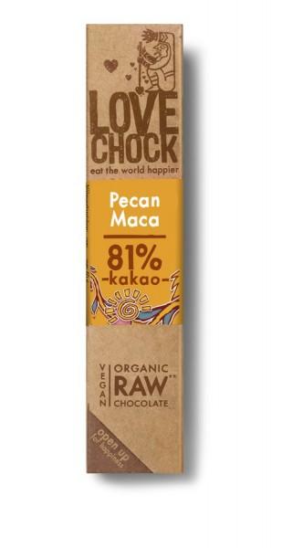 Lovechock Lovechock Riegel 40 g Pecan/Maca