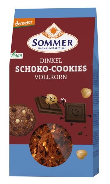 Sommer & Co. Demeter Dinkel Schoko Cookies, Vollkorn