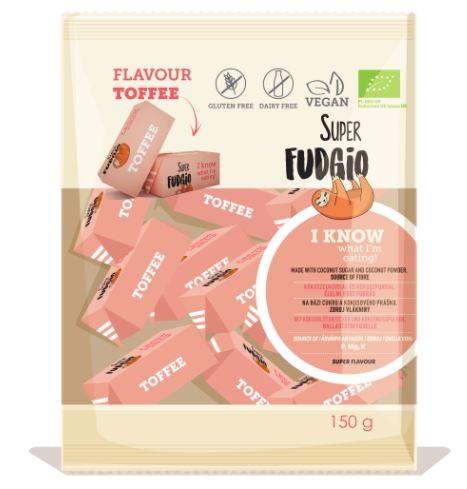 Super Fudgio Karamellbonbons TOFFEE, 150g
