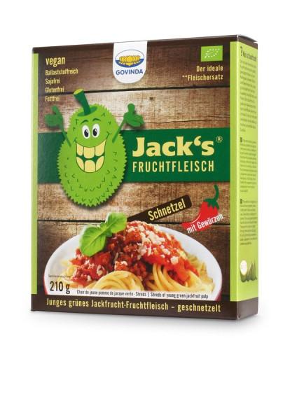 Govinda Jacks Fruchtfleisch- Jackfrucht-Fruchtfleisch Schnetzel