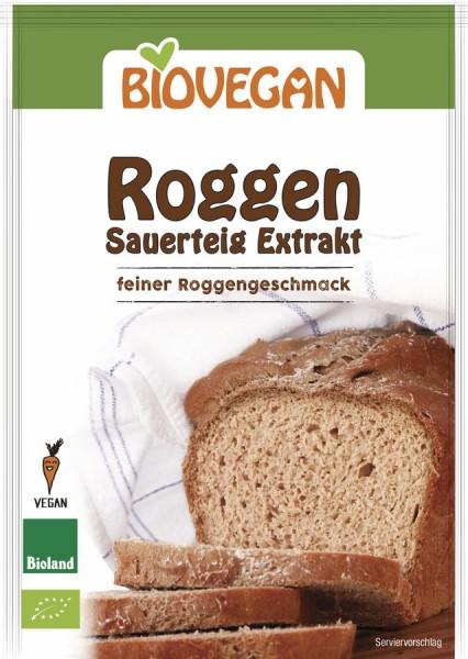 Biovegan Roggen Sauerteig Extrakt, BIO