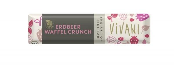 Vivani Erdbeer Waffel Crunch - mit Reisdrink