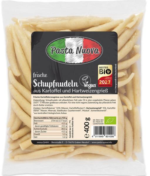 Pasta Nuova Frische vegane Schupfnudeln aus Kartoffel und Hartweizengrieß