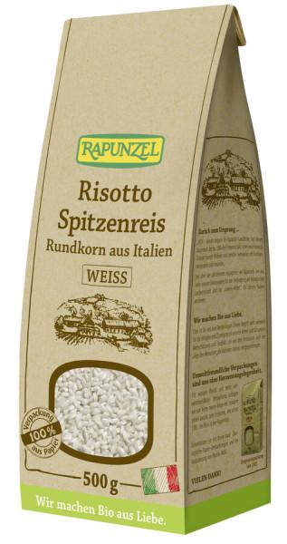 Rapunzel Risotto Rundkorn Spitzenreis 'Ribe' weiß