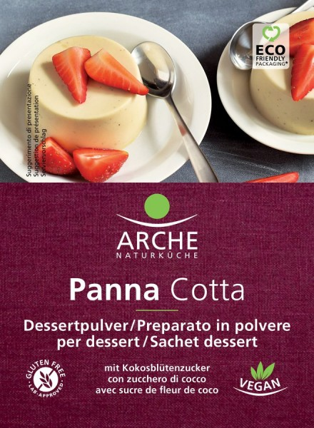 Arche Naturküche Panna Cotta, glutenfrei